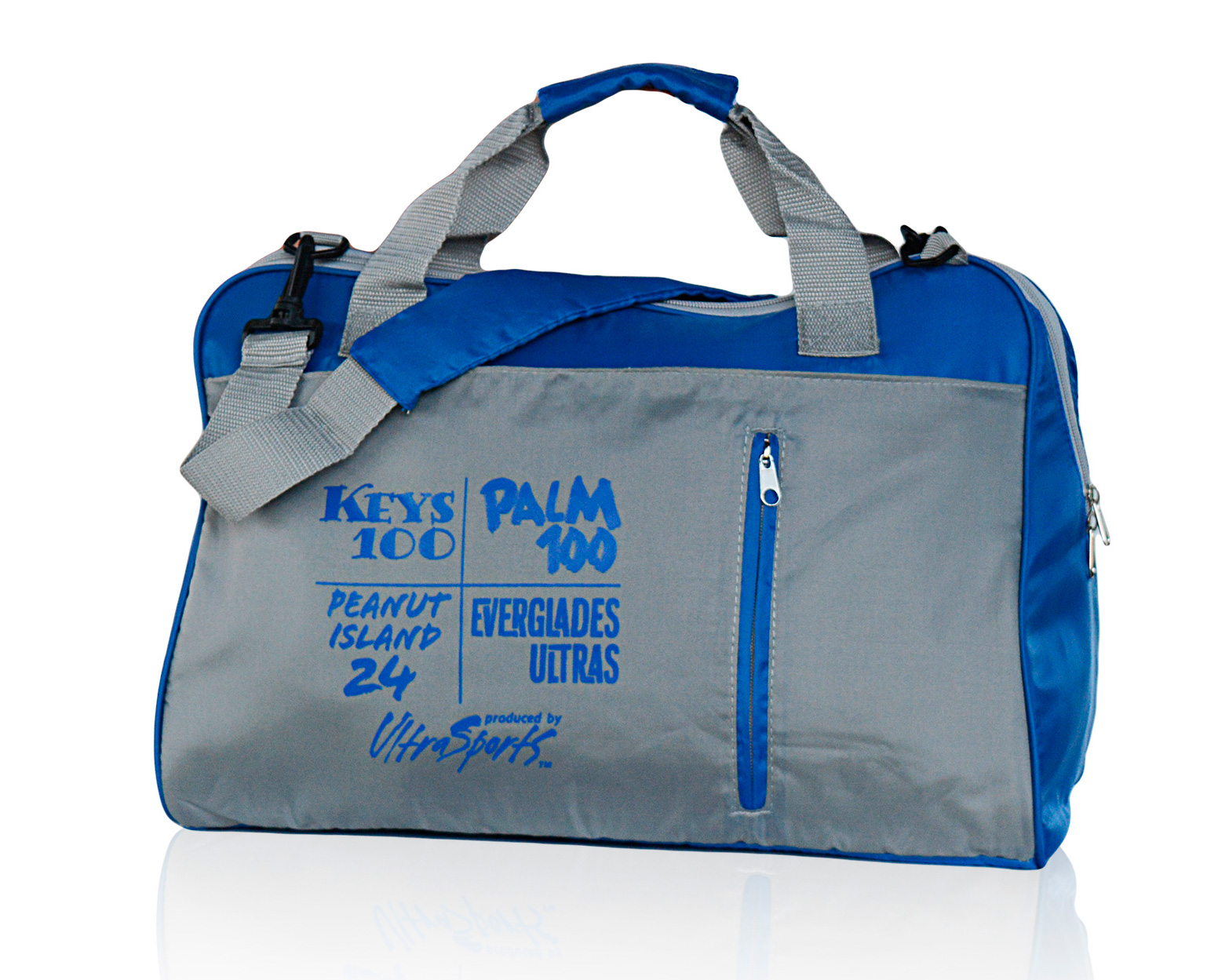 Legacy gym bag blue grey cropped